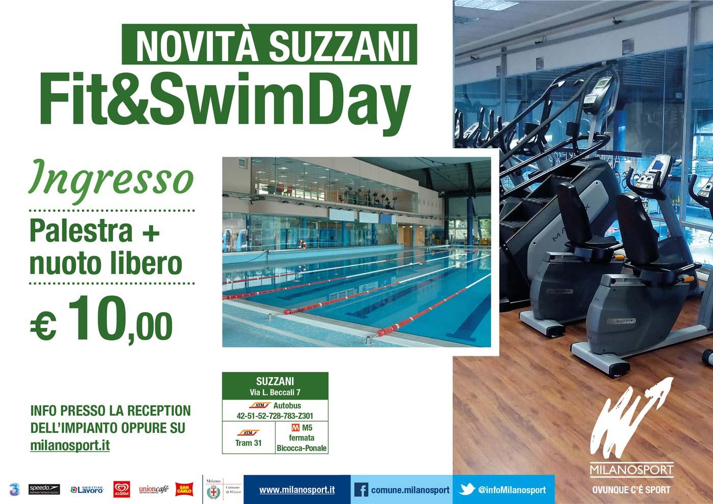 Milanosport a milano dove c 39 sport for Piscina suzzani