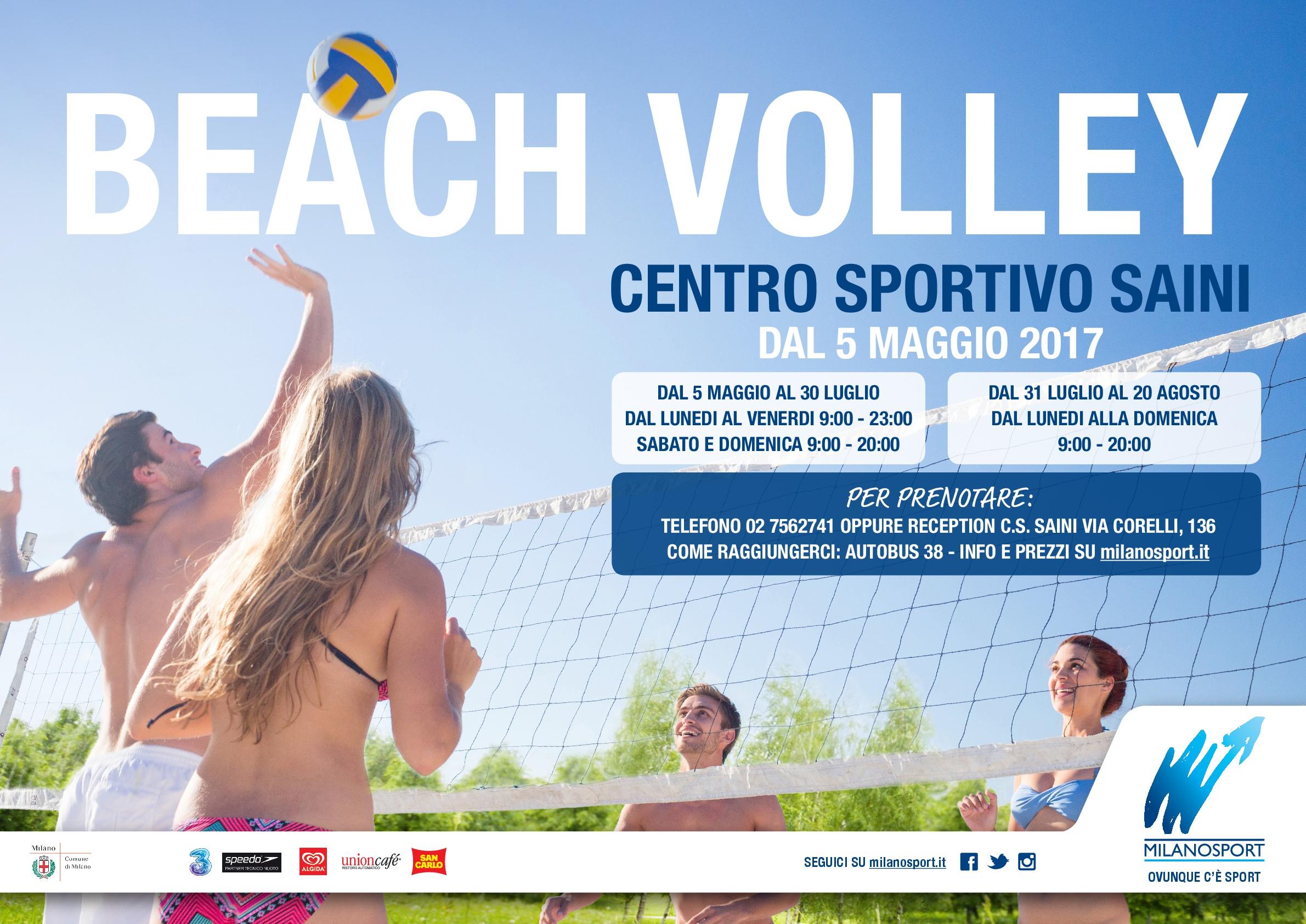 milanosport - gli sport: pallavolo e beach volley
